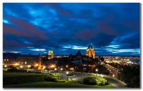 Image Horizon Quebec City Metropolis Skyline City