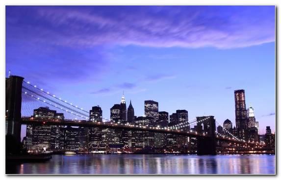 Image Horizon Skyscraper Cityscape City Reflection