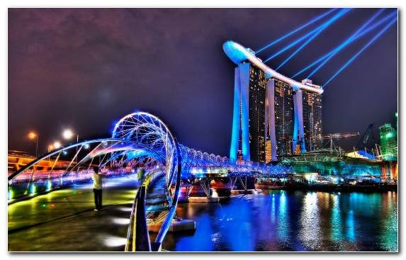 Image Hotel Marina Bay Sands Tourist Attraction Cityscape City