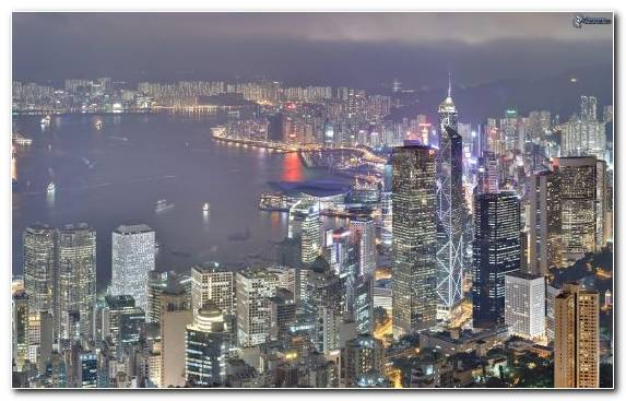 Image Hotel Accommodation Capital City City Victoria Peak