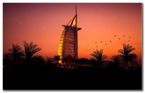 Image Hotel Dusk Tower Burj Al Arab Sunrise