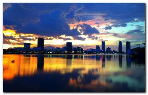 Image Hotel Skyline Horizon Metropolis Han River