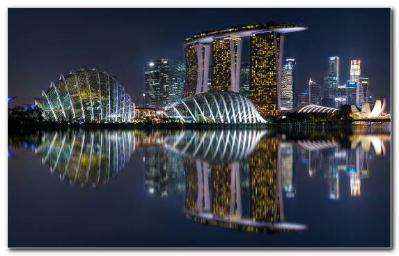 Image Hotel Skyline Landmark Cityscape Marina Bay Sands