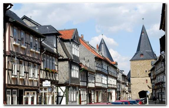 Image House Altstadt Medieval Architecture Farmhouse Roof