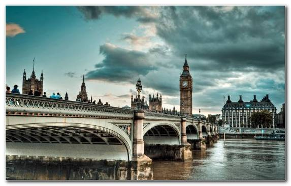 Image Houses Of Parliament Bridge Westminster Bridge Palace Of Westminster River Thames