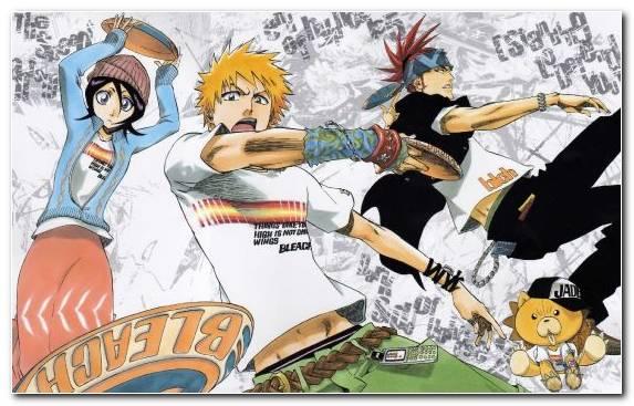 Image Ichigo Kurosaki Mangaka Fiction Manga Orihime Inoue