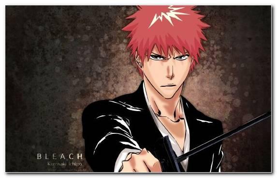 Image Ichigo Kurosaki Portrait Cool Mangaka Bleach
