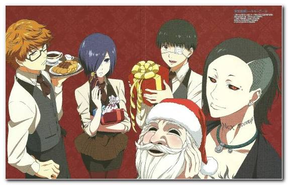 Image Illustration Ghoul Christmas Tokyo Ghoul Character
