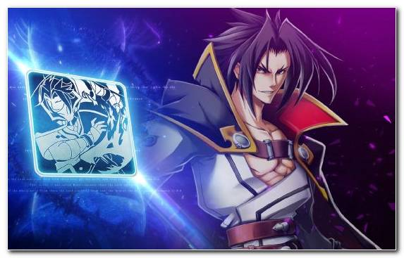 Image Illustration Steam Trading Cards Blazblue Calamity Trigger Graphic Design Jin Kisaragi