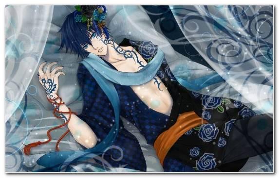 Image Illustration Tattoo Mangaka Vocaloid Blue