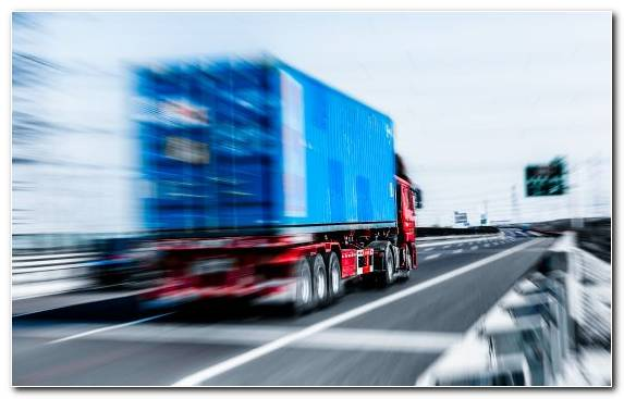 Image Infrastructure Blue Highway Road Freight Transport