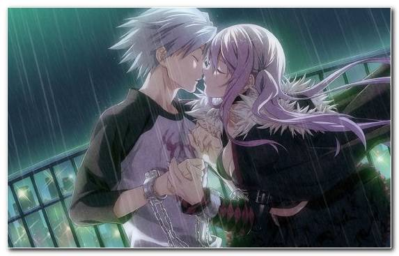 Image Interaction Vampire Knight Purple Manga Hug