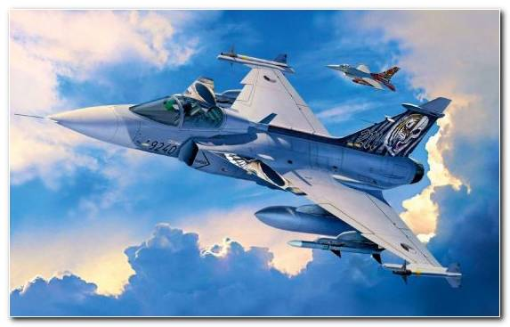 Image Jas 39 Gripen Saab Group Fighter Aircraft Airplane Plastic Model