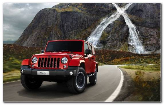Image Jeep Wrangler Car Off Roading Four Wheel Drive Jeep
