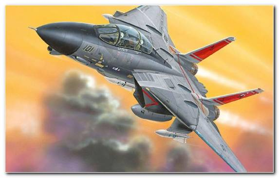 Image Jet Aircraft Airplane Grumman F 14 Tomcat F 14A Air Force