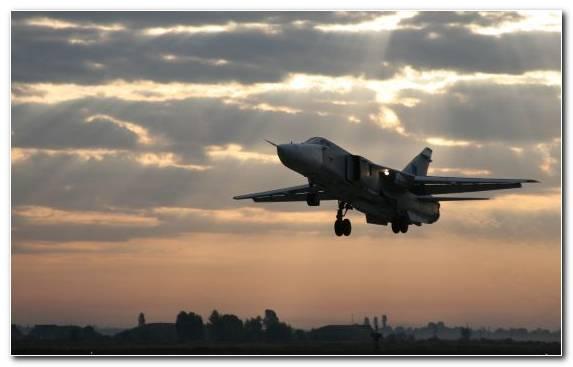 Image Jet Aircraft Military Aircraft Sukhoi Sukhoi Su 24 Airplane