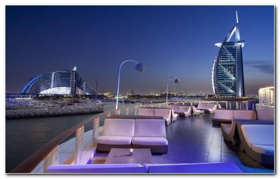 Image Jumeirah Beach Hotel City Horizon Marina Skyline