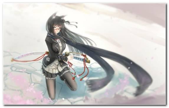 Image Katana Sword Anime Weapon Figurines
