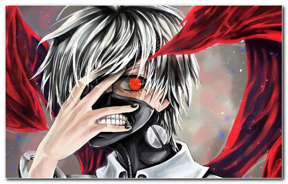 Image Ken Kaneki Art Manga Red Illustration