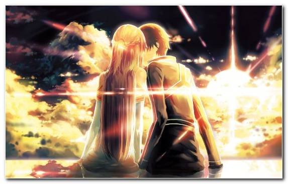 Image Kirito Romance Film Romance Girl Flame