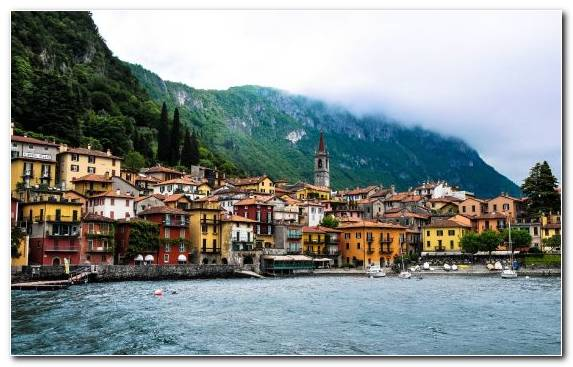 Image Lake Travel Tourism City Town