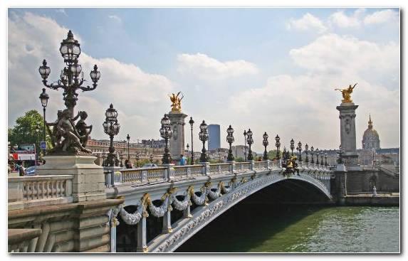 Image Landmark Pont Alexandre III Metropolis Tours Bridge