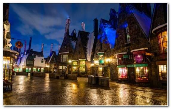 Image Landmark The Wizarding World Of Harry Potter Cityscape Metropolis Harry Potter
