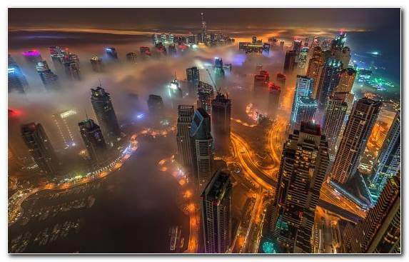 Image Landmark Burj Khalifa Building Metropolitan Area Skyscraper