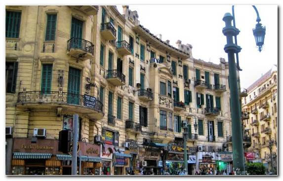 Image Landmark City Town Square Street Metropolis