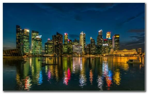 Image Landmark Cityscape City Singapore Urban Area