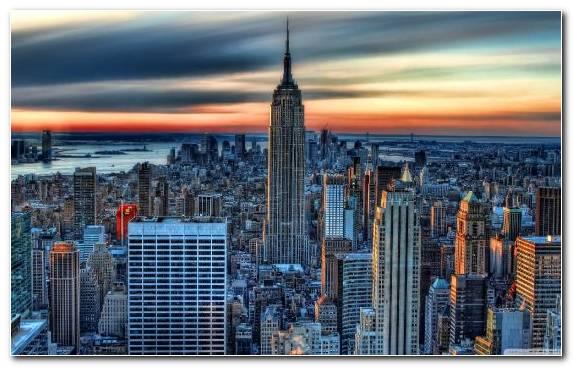 Image Landmark Cityscape Day Capital City New York