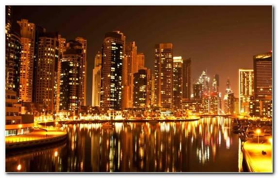 Image Landmark Dubai City Skyscraper Horizon