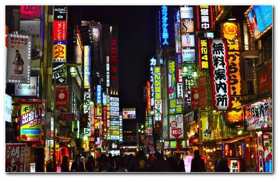 Image Landmark Electronic Signage Street City Urban Area