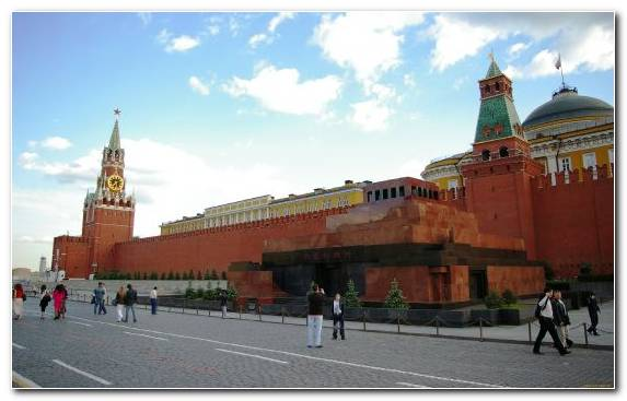 Image Landmark Palace Tourist Attraction City Spasskaya Tower