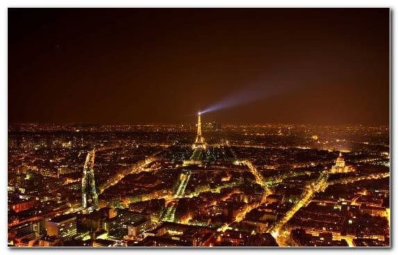Image Landmark Paris Atmosphere Night Eiffel Tower