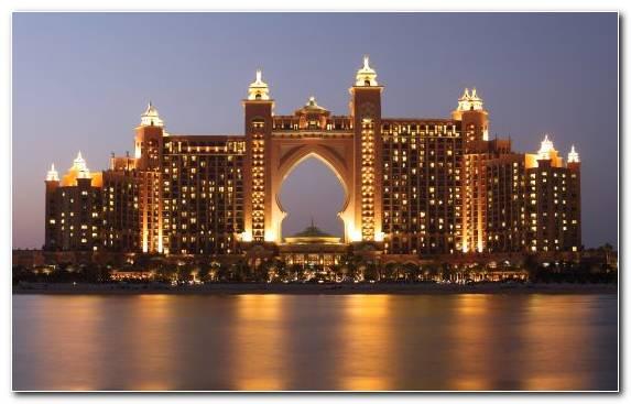 Image landmark skyline night metropolis hotel