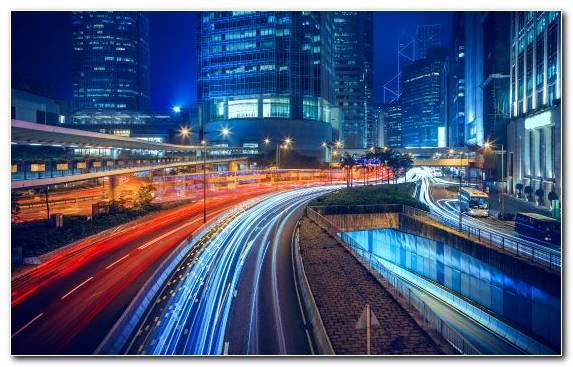 Image Landmark Street Hong Kong Metropolis Cityscape