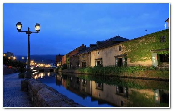 Image Landscape Lighting Town Body Of Water Waterway