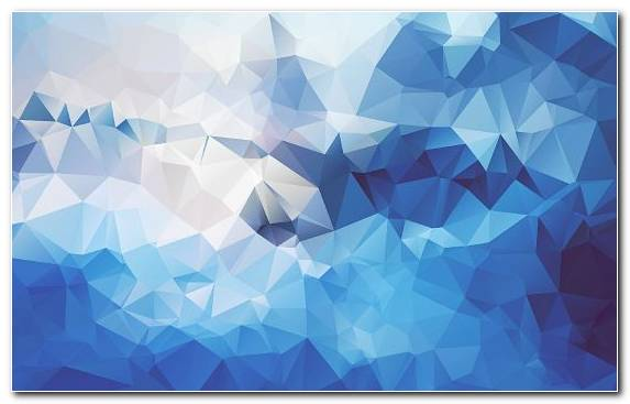 Image Light Blue Symmetry Low Poly Blue Design