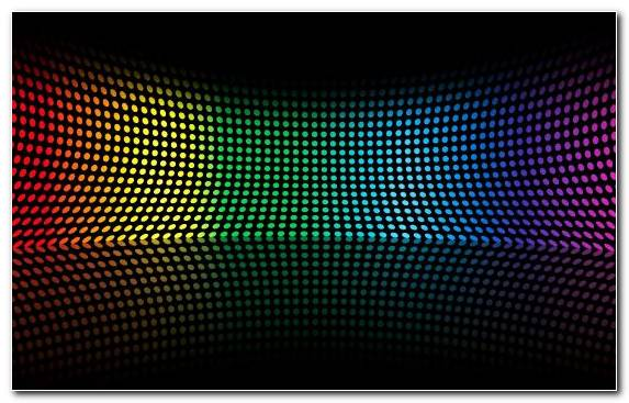 Image light circle mesh point pattern