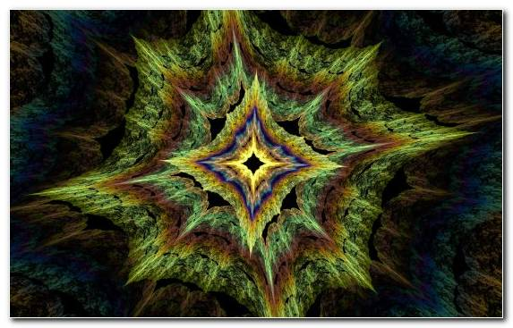 Image Light Fractal Art Symmetry Pattern