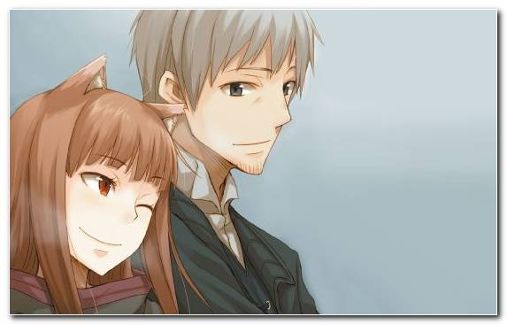 Image Light Novel Spice And Wolf Series Hairstyle Brains Base Girl