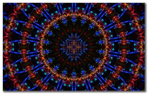 Image Light Symmetry Kaleidoscope Circle Pattern
