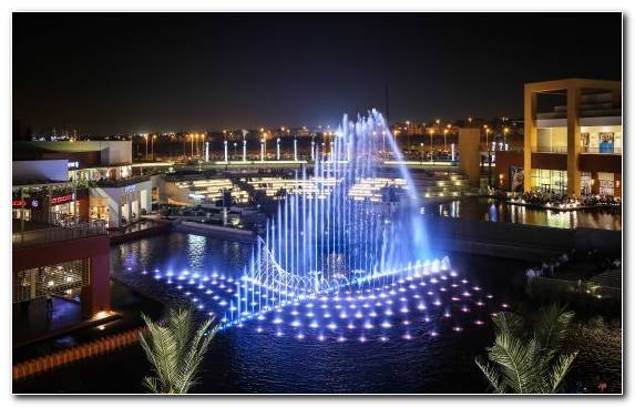 Image Lighting Cairo Night Shopping Mall Metropolis