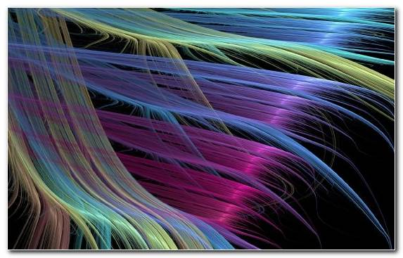 Image Line Macro Pattern Bright Feathers