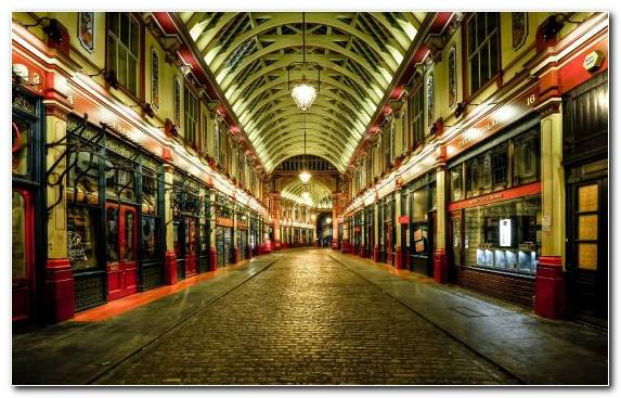 Image London Capital City Tourist Attraction Night Street