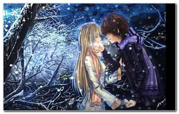 Image Love Girl Darkness Tree Animation