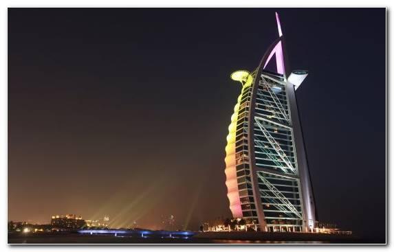 Image Luxury Hotel Jumeirah Burj Al Arab Cityscape Architecture