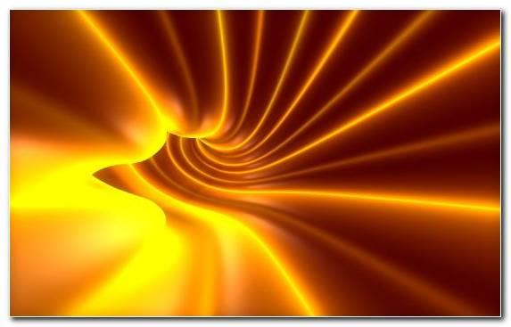 Image Macro Photography Light Orange Line Yellow