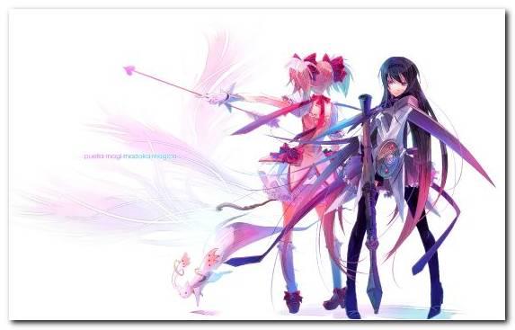 Image Magical Girl Anime Purple Madoka Kaname Fictional Character